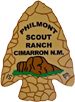 Philmont's arrowhead symbol