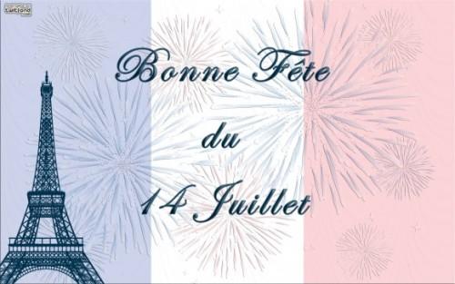 Posted from Périgueux:  le jour de Bastille
