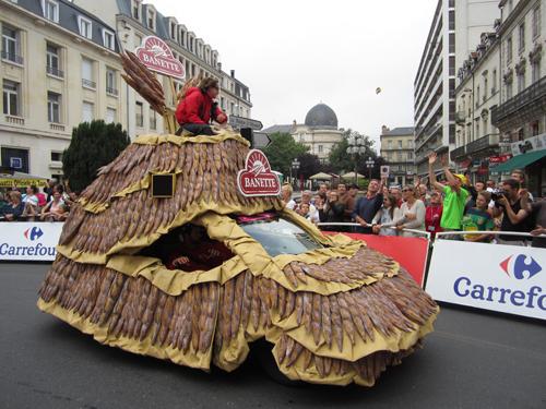 Posted from Périgueux:  Tour de France