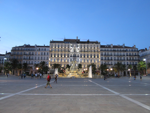 Tidings from Toulon:  settling in
