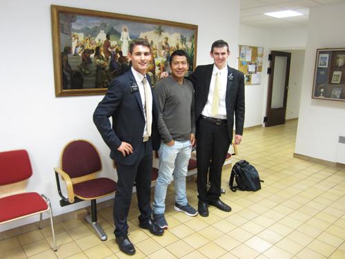 Tidings from Toulon:  au revoir, Elder Rodriguez Cepeda; bienvenue, Elder Herring