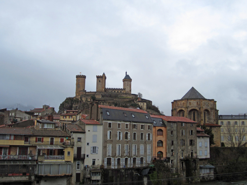 Mail from Muret:  Foix